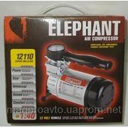 Компрессор ELEPHANT КА-12110 150psi/14Amp/35литров/прикуриватель фото