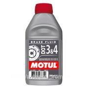 Тормозная жидкость DOT 3&4 Brake Fluid 0,5 литра фото