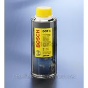 Тормозная жидкость Bosch DOT-4 0.25L фото