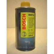 Тормозная жидкость Bosch DOT-4 0.5L фото