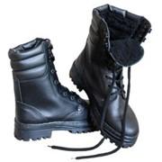 Ботинки ОМОН хром искусственный мех фото