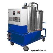 Установка мобильная для очистки турбинных, индустриальных, компрессорных масел ОТМ-5000 фото