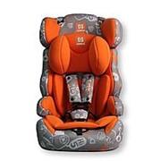 FARFELLO Автокресло детское Farfello GE-E серо-оранжевый (orange+colorful) фото