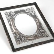 Зеркало античное в рамке фото