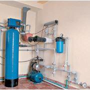 Монтажу систем очистки воды фото