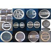 Декоративные защитные решетки на динамики авто (грили) «Маскот» ™ из нержавеющей стали фото