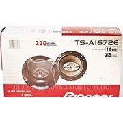 Автомобильная акустика колонки Pioneer TS-A1672E, купить Динамики для магнитолы TSA1672E, TS A1672E фото