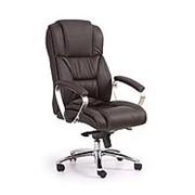 Кресло компьютерное Halmar FOSTER (темно-коричневый) фото