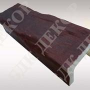Балки полиуретановые размер 6x9 Махагони табаско фото
