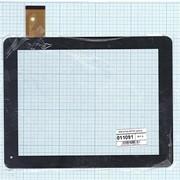 Сенсорное стекло (тачскрин) для DNS AirTab M971W черный, Диагональ 9.7, 1024x768 (XGA) фото