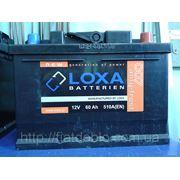 Аккумулятор LOXA 12v 60Ah 510A (EN) фото