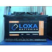 Аккумулятор LOXA 12v 74Ah 720A (EN) фото