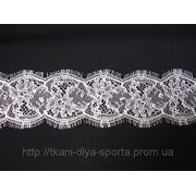 Кружевная лента Solstiss (цвета: белый, черный) фото