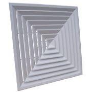 Решетки вентиляционные потолочные (алюминиевые).