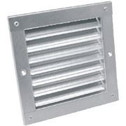 Решетки вентиляционные регулируемые (из оцинкованной стали) для технических помещений.