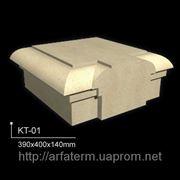 Крышки тумб для балюстрад 390x400x140 фото