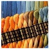 Хлопчатобумажная нить DMC (465 цветов). Состав: 100% длинноволокнистый хлопок. Мулине. фото
