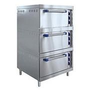 Трехсекционный жарочный шкаф ШЖЭ-3-К-2/1 (с конвекцией) фото