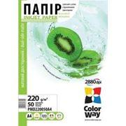 Фотобумага ColorWay A4 матовая двусторонняя 220 г/м (50 шт.) фото