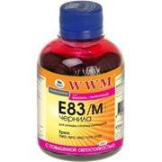 Чернила WWM E83 Magenta для Epson Stylus Photo T50/P50/PX660, 200 гр (E83/M) фото