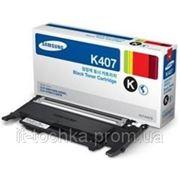 Черный картридж Samsung CLT-K407S/SEE black фото