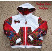 Куртка велюровая (зимняя - 2 слоя синтепона) фото