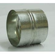 Ниппеля круглые из оцинкованной стали. фото