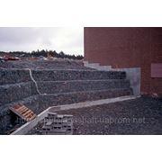 Подпорные стены из габионов фото