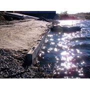 Укрепление берегов прудов фото