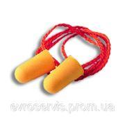 Противошумы (Беруши) пенополиуретановые с тесьмой (пара) ЗМ 1110 фото