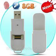 Биометрический USB Флэш Диск - 8 ГБ, Сохраняет до 10 Отпечатков пальцев ID фото