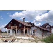 Строительство коттеджей по канадской деревянно-каркасной технологии фото