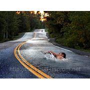 Битум дорожный улучшенный полимерами фото