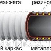 Рукав O 50 мм напорно-всасывающий кислотно-щелочной КЩ-2-50-5 ГОСТ 5398-76 фото