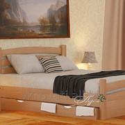 Кровать Эмма Экстра 120*200 (Натуральное дерево) фото