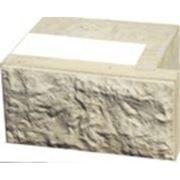 Трехслойный теплоэффективный стеновой блок для окон с четвертью фото