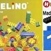Hubelino Кирпичики цветные с контейнером и с крышкой (550 элементов) арт. RN18107 фото
