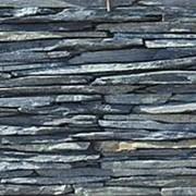 Натуральный камень Горбушка сланец зелёный фото