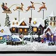 Светящаяся композиция «Волшебный Новый год», 36x16x25 см, LED лампы (Kaemingk) фото