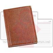 Деловой дневник синий, обложка: бумвинил (21715)
