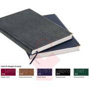 Деловой дневник бордо, обложка: баладек (21731)