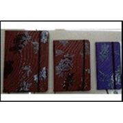 A7-PU-021 блокнот на рез.крем.бум,#,А7,карман,100л. 4 цв. фото