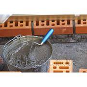 Раствор бетонный М100П12 фото