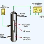 Обеззараживание воды. Ультрафиолетовые бактерицидные лампы фото