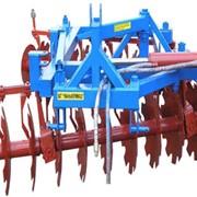 Борона дисковая садовая БДВС-2,3 навесного типа, для обработки междурядье в садовых и виноградных полях, работ: применяется в степных и лесостепных зонах, для тракторов N=60-150 л.с., пр-во Уманьферммаш, Украина фото