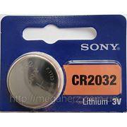 Батарейка таблетка CR2032 Sony