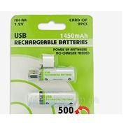 Вечная аккумуляторная батарейка, универсальная батарейка AA емкостью 1450mAh фото