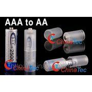 2 х Конвертор батареи AAA to AA фото