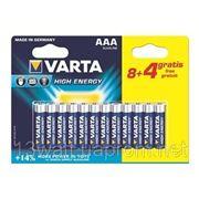 VARTA HIGH Energy AAA 12 шт/бл. фото