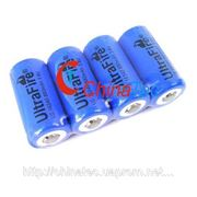 UltraFire 16340 CR123A 3.7V перезаряжаемая литиевая батарея фото